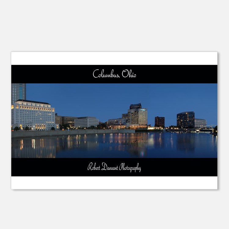 Columbus Ohio Skyline Postcards (Package of 8)