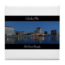 Columbus Ohio Skyline Tile Coaster