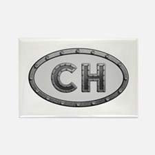 CH Metal Rectangle Magnet 100 Pack