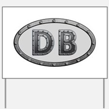 DB Metal Yard Sign