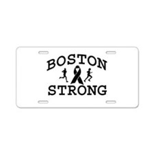 BostonStrong Aluminum License Plate