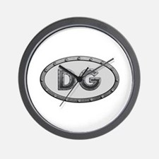DG Metal Wall Clock