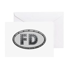 FD Metal Greeting Card