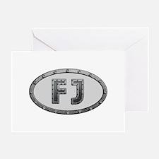 FJ Metal Greeting Card