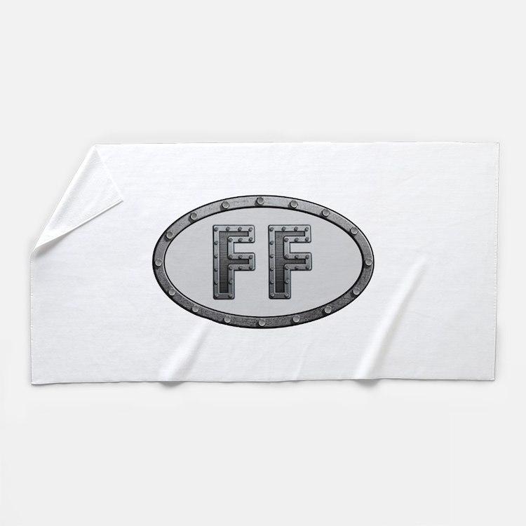 FF Metal Beach Towel