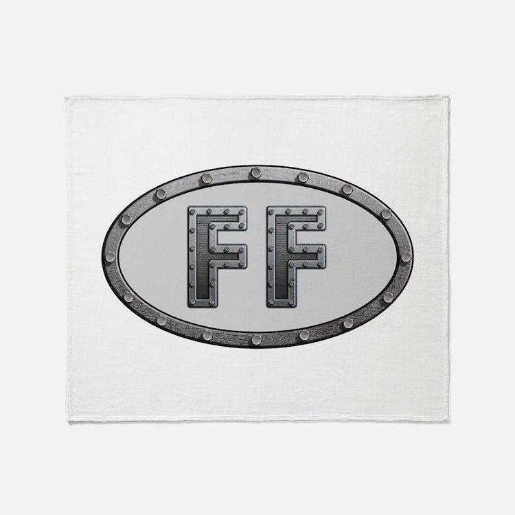 FF Metal Throw Blanket