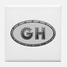 GH Metal Tile Coaster