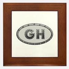 GH Metal Framed Tile