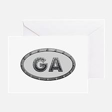 GA Metal Greeting Card