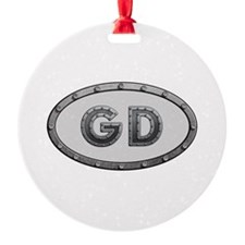 GD Metal Ornament