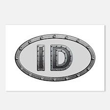 ID Metal Postcards 8 Pack