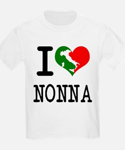 I Love Nonna Kids T-Shirt