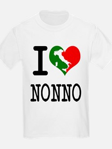 I Love Nonno Kids T-Shirt