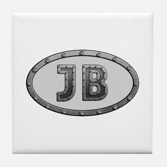 JB Metal Tile Coaster