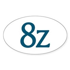 8z Logo Decal