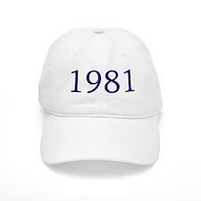 1981 Baseball Cap