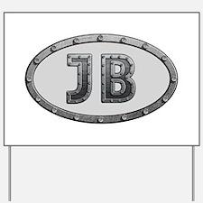 JB Metal Yard Sign