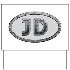 JD Metal Yard Sign