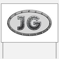 JG Metal Yard Sign