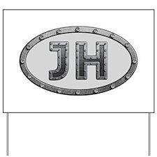 JH Metal Yard Sign