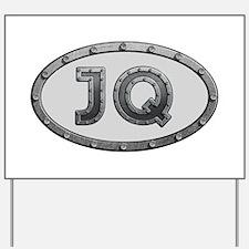 JQ Metal Yard Sign