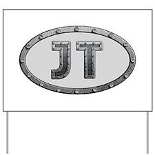 JT Metal Yard Sign