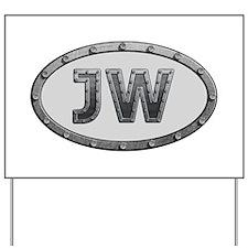 JW Metal Yard Sign