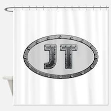 JT Metal Shower Curtain
