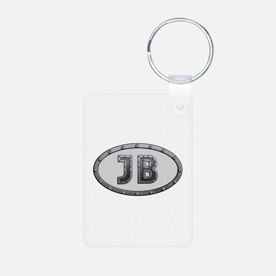 JB Metal Aluminum Keychain