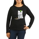 Dear Santa Women's Long Sleeve Dark T-Shirt