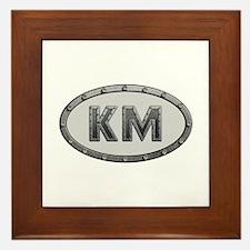 KM Metal Framed Tile