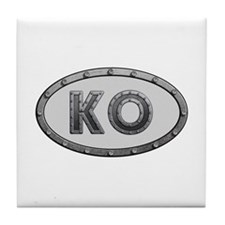 KO Metal Tile Coaster