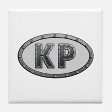 KP Metal Tile Coaster