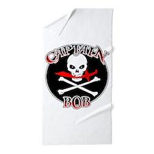 Captain Bob Beach Towel