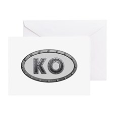 KO Metal Greeting Card