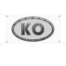 KO Metal Banner