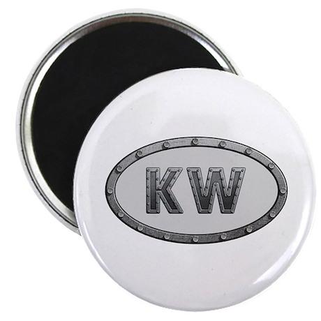 KW Metal Round Magnet 10 Pack