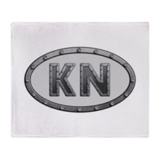 KN Metal Throw Blanket