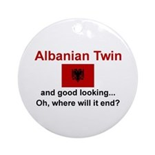 Good Looking Albanian Twin Ornament