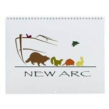 2015 Raccoon Wall Calendar-Babies Of New Arc