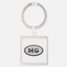 MG Metal Square Keychain