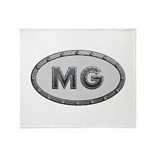 MG Metal Throw Blanket