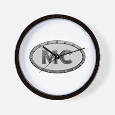 MC Metal Wall Clock