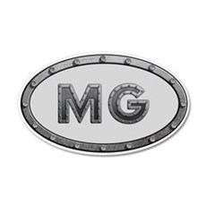 MG Metal Wall Decal