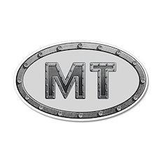 MT Metal Decal Wall Sticker
