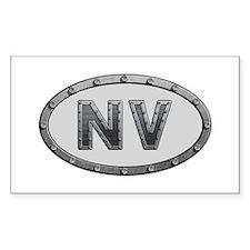 NV Metal Rectangle Decal