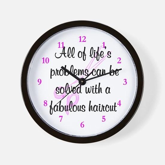 TOP HAIR STYLIST Wall Clock