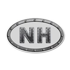 NH Metal Wall Decal