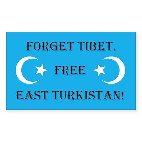 Free East Turkestan Sticker