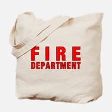 Fire Department Red Tote Bag